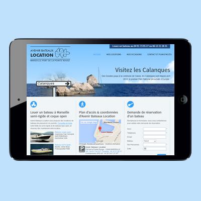 Webdesign – Avenir bateaux