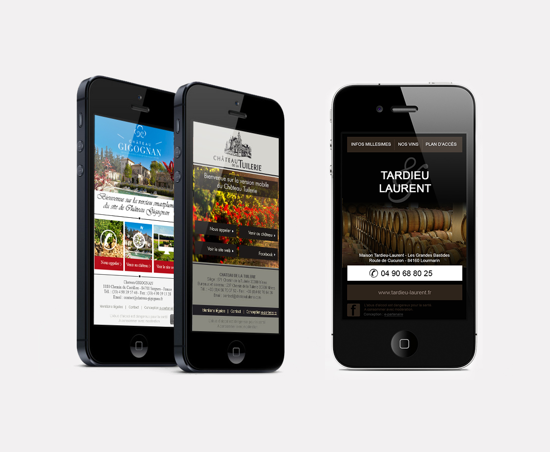 Webdesign – Mobile page