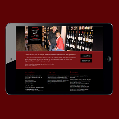 Webdesign – Restaurant / Bar à vin