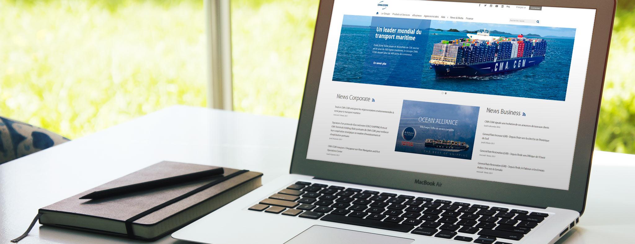 graphic design création page site internet