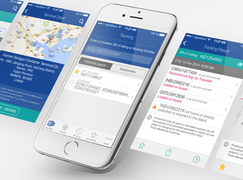 Webdesign d'application mobile