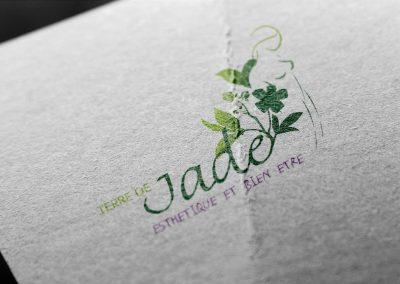 Graphic design – Plaquettes tarifs Terre de Jade