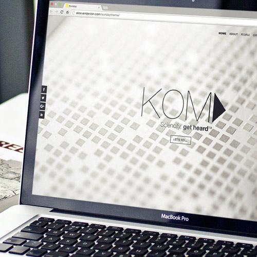 Web Design the Kom Agency