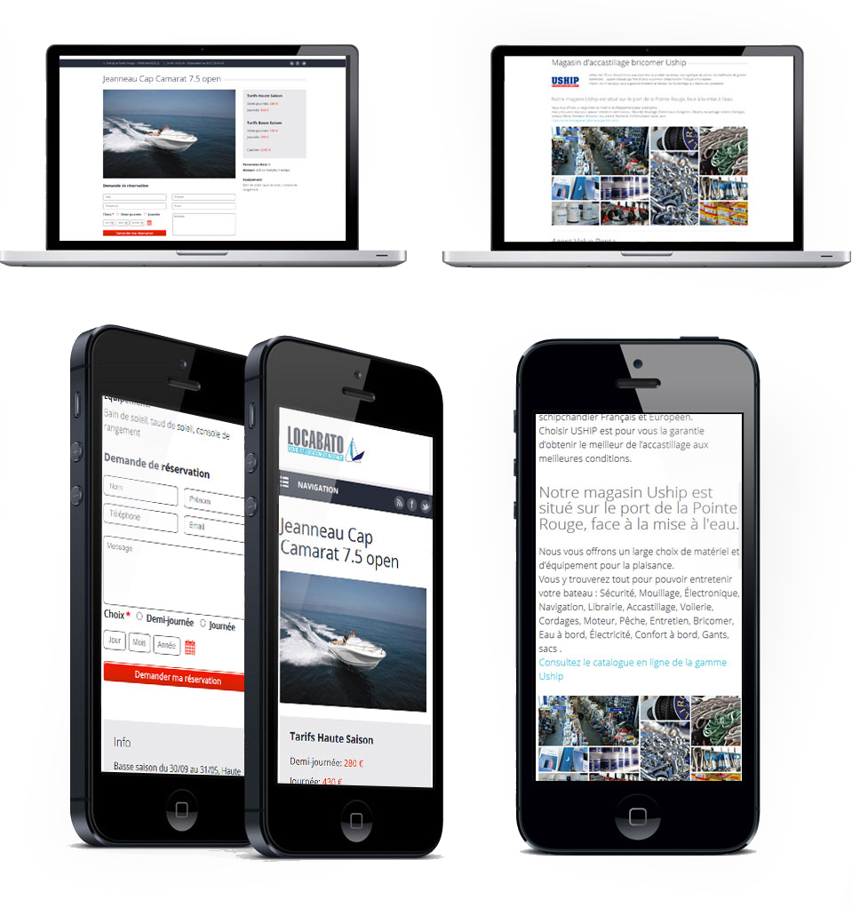 webdesign responsive locabato